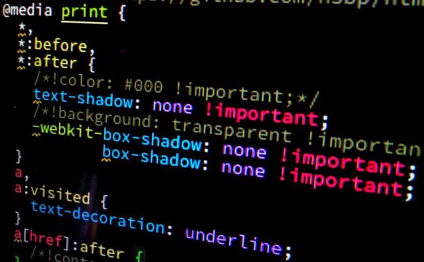 Paramétrer l'impression de pages utilisant Bootstrap